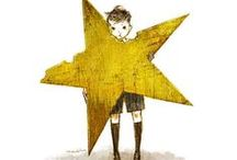 Stars / Stars in every form: drawing, ornaments, decorations, objects