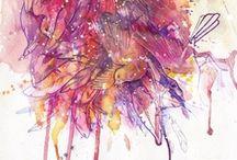 MATERIAL: Watercolor