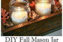 Mason jars(: / by Kenzie Brunson
