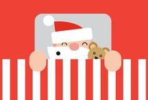 Xmas illustrations / Christmas and holidays illustrations and drawings. Merry Christmas!