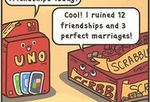 Board game comics / Comics featuring board game humour.