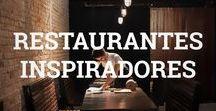Restaurantes inspiradores / Lugares ao redor do mundo para comer e admirar uma bela decoração