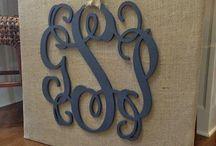 monogram it / by Jenny Levering