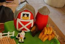 Birthday Cakes / Amazing Birthday Cakes - Fondant Birthday Cakes