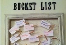Bucket List / by Fabiola Frias