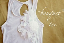 Tee and fabric makeovers / by Julie Hunter