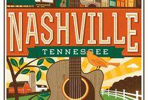 Music City, USA / by Joy Hill-Padilla