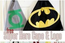 Superhero Costume Ideas / Some fun ideas for superhero costumes, accessories and decorations. Picture day for the students is coming up and don't forget to get your own superhero gear ready for the real event in February!