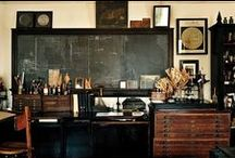 Studio Space / Home work space ideas and organization