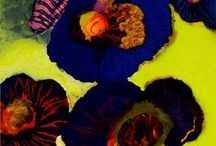 Surface Pattern - florals / by Sarah Bagshaw Surface Pattern Design
