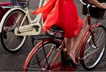 When I get over my fear of bikes my style will be cycle chic / by Adriana Herrera