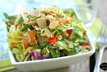 Salad Recipes / by Katy Czech