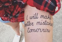 Tattoos / by Emily Salyers