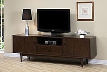 Credenzas and TV stands / by Monica Draper