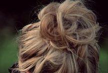 hair: buns ! / by Sierra Simons