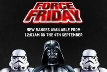 # f o r c e f r i d a y / Star Wars: The Force Awakens hits cinemas on December 19th, but September 4th is #ForceFriday - the day when all the new Star Wars Force Awakens ranges are announced to the world. Check back for exclusive products, exciting item announcements and even some surprises...  Shop Star Wars on Zavvi: http://goo.gl/Y1m6dx