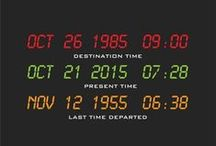 b a c k t o t h e f u t u r e / We have to go back...  21st October 2015 marks Future Day, or the day that Marty went back to the future in Back to the Future II. Celebrate with the classic BTTF films and some awesome merchandise: http://goo.gl/sqblN1