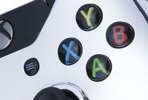 c u s t o m c o n t r o l l e r s / Play your way with Custom Controllers on Zavvi: http://goo.gl/fIDQKx  Available for Xbox One and PS4 controllers.