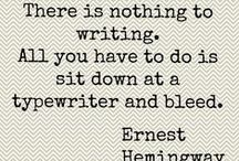 Write until you bleed... / by Heather B