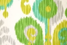 Outdoor Fabric- GREEN / by Modern Lantern