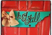 Door Hangers/Wreaths / by Sarah Price