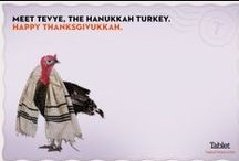 Thanksgivukkah 2013 / Because it's not happening for another 70,000 years. / by Tablet Magazine