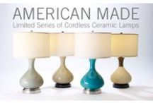 Made in the USA / Cordless Table Lamps made in the USA  / by Modern Lantern