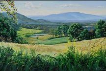 Nora Harrington Paintings / Paintings by Plein air artist Nora Harrington in Washington, VA