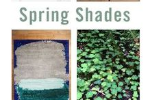 March Trend: Spring Shades / A look at some of Modern Lantern's favorite trends for the Month of March 2016. Fresh looks and tones for spring on the way!  / by Modern Lantern