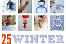 Winter Theme / Crafts, ideas and printables for a winter theme / by {1plus1plus1} Carisa