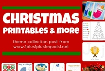 Christmas / Christmas printables, crafts and ideas for kids and families / by {1plus1plus1} Carisa