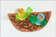 Bird Theme / Craft, printables and ideas for a BIRD theme / by {1plus1plus1} Carisa