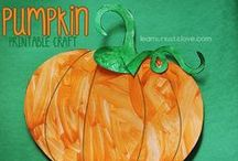 Pumpkin Theme / Printables, crafts and ideas all centered around a PUMPKIN theme for kids!