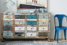 DIY Furniture re-dos / by Jaime from Crafty Scrappy Happy