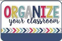 Organize / Classroom Organization
