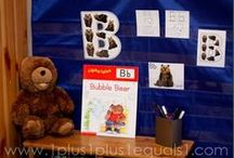 Bear Theme / by {1plus1plus1} Carisa