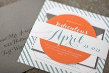 Invitaciones de bodas / Participaciones, tarjetas e invitaciones super originales, clasicas, vintage, retro, modernas para ayudarte a elegir la tuya! / by CasarCasar - Portal de Novias