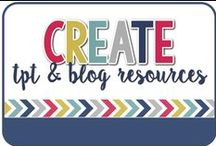 Create / TpT and Blogging Resources