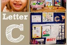 C is for... / Ideas, printables and crafts for the Letter C