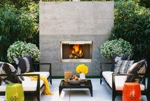 Outdoor spaces  / by Jaime from Crafty Scrappy Happy