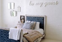 Guest Bedroom / by Jaime from Crafty Scrappy Happy
