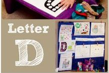 D is for... / Ideas, printables and crafts all starting with the Letter D!