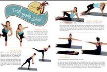 Full body workouts / Total body workouts / by Denise Pratt