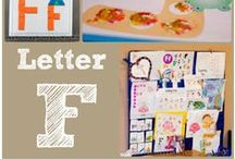 F is for... / Crafts, ideas and printables for the Letter F