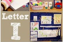 I is for... / Printables, crafts and ideas for learning the Letter I / by {1plus1plus1} Carisa