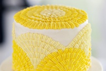 Wedding Cakes - Yellow