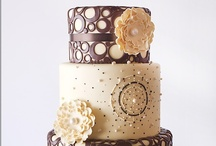 Wedding Cakes - Brown