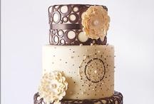 Wedding Cakes - Brown