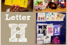 H is for... / Ideas, printables and crafts featuring the Letter H