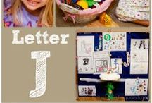 J is for... / Crafts, printables and ideas for the Letter J